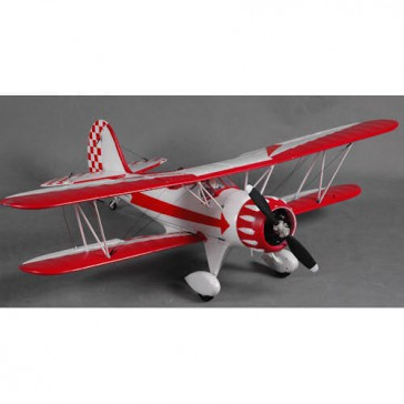 DISC.. Plane 1030mm Waco White & Red PNP Kit