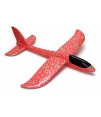 Planeur 480mm Mini Fox lancé main (Rouge)