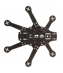 DISC.. Mini Spider hexacopter FPV frame kit