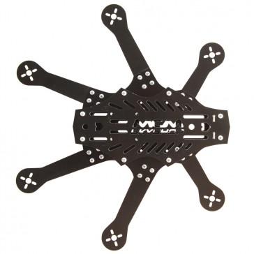 DISC.. Mini Spider hexacopter FPV frame kit