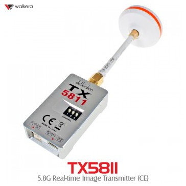 DISC.. 5,8Ghz Video Transmitter TX5811 (25mw)
