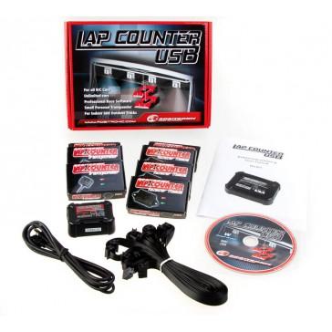 LapCountSytem USB Set with 3 Transponder