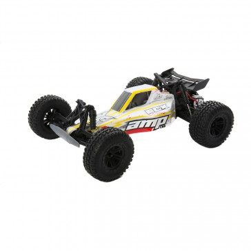 DISC..AMP MT 1:10 2WD Desert Buggy: White/Red RTR INT