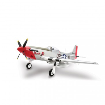 DISC.. P-51D Mustang 1.2m BNF Basic