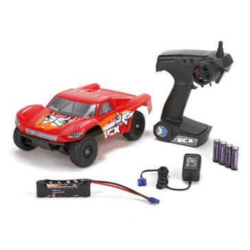 Torment 1/18 4WD SCT: Red/Orange RTR INT