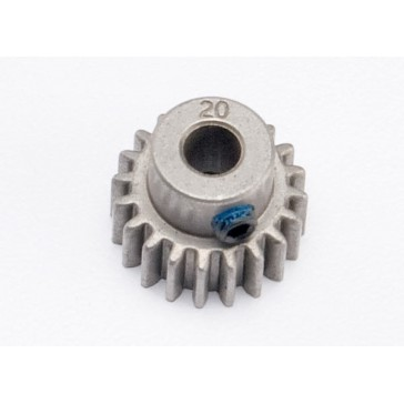 Gear, 20-T pinion (0.8 metric pitch, compatible with 32-pitc
