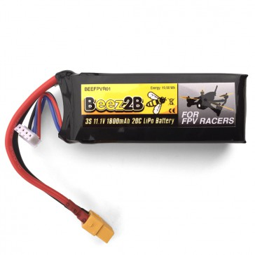 DISC.. 3S 11.1v 1800mAh 20C Lipo Battery for FPV racer