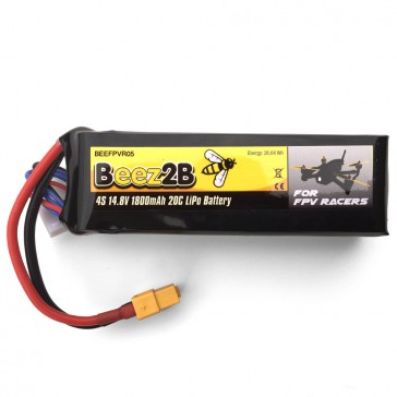 DISC.. 4S 14.8v 1800mAh 20C Lipo Battery for FPV racer