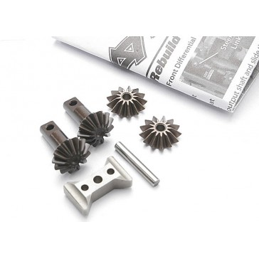 Gear set, differential (output gears (2)/ spider gears (2)/