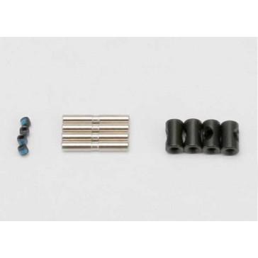 Cross pin (4)/ drive pin (4)/ set screw (4) (to rebuild 2 dr