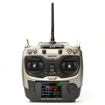 DISC.. AT9 9-channel radio (Mode 2) + récepteur R9D