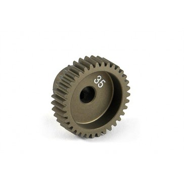 Narrow Pinion Gear Alu Hard Coated 35T : 64