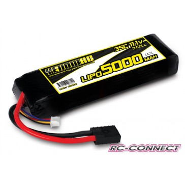 Yellow RC LiPo 5000mAh 11.1V 3S 35C , E-Revo Slash