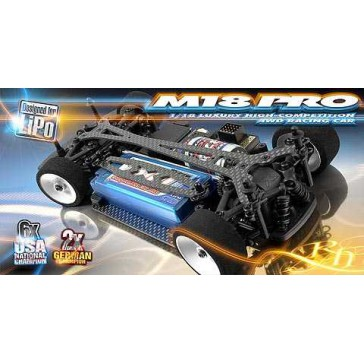 Xray M18 Pro LiPo 4Wd Shaft Drive 1:18 Micro Car