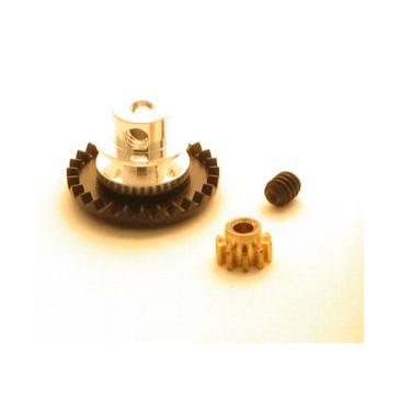 DISC.. Kronrad 3/32 Kunststoff IL 27/10Z mit Ritzel