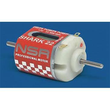 DISC.. Motor Shark 22400upm/168gr./12V, Kurz beide Seiten offen