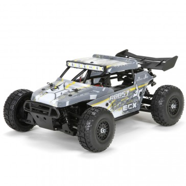 1/18 Roost 4WD Desert Buggy: Grey/Yellow RTR INT