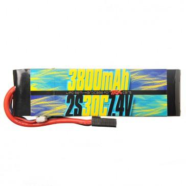 2s 7.4v 3800mAh 30C Lipo Battery for Traxxas 1/10 Cars