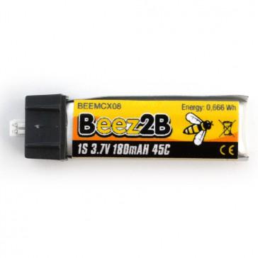 Batterie Lipo 1s 3.7V 180mAh 45C  (mCX. mSR. Minium, inductrix etc..)