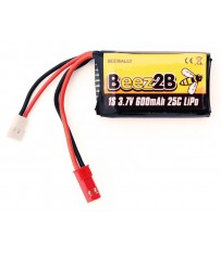 Batterie Lipo 1s 3.7V 600mAh 25C pour V120D02S/ W100 & Traxxas/Latrax