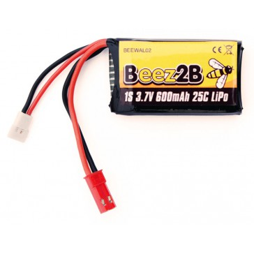 1s 3,7V 600mAh 25C lipo battery for V120D02S/ W100 & Traxxas/Latrax