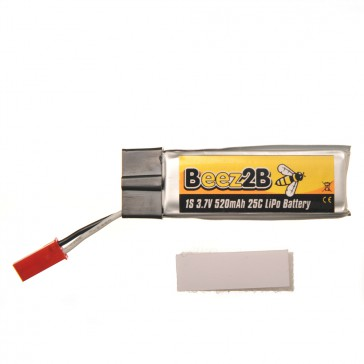 1s 3.7V 520mAh 25C lipo battery for Blade SR120/mQX/ Solo Pro 328