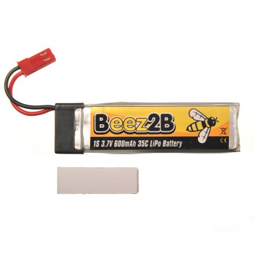 1s 3.7V 600mAh 35C lipo battery for Blade SR120/mQX/ Solo Pro 328