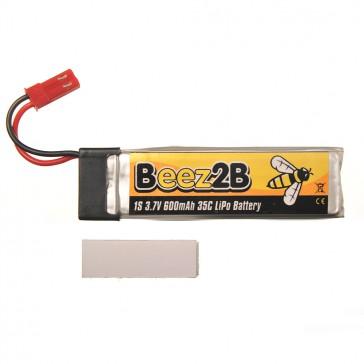 Batterie Lipo 1s 3.7V 600mAh 35C pour Blade SR120/mQX/ Solo Pro 328