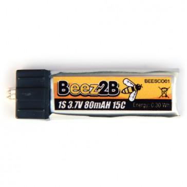 Batterie Lipo 1s 3.7V 80mAh 15C pour Blade Scout CX & mini vapor