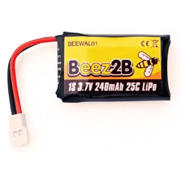 Batterie Lipo 1s 3.7V 240mAh 25C pour WK Genius/Mini CP/Ladybird & X4