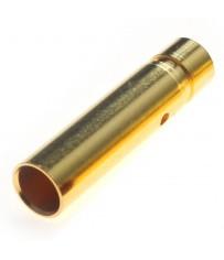 Connecteur : prise 4.0mm Femelle plaqué or (1pc)
