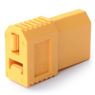 """""""One piece"""" Adaptor XT60 device (M) to Deans T plug battery (F)"""