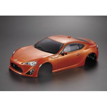 Toyota 86 195mm, orange finished, RTU all-in