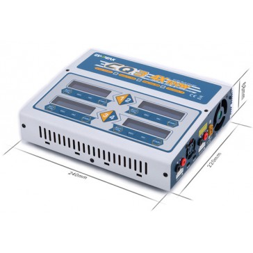 CQ3 AC/DC 4x100W charger
