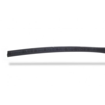 5mm thick shrink tube black - 1m