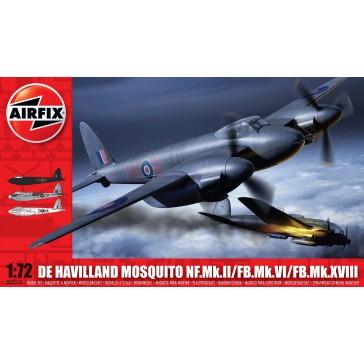MOSQUITO FBVI/ NF II/Mk XVIII S3 1:72