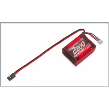 VTEC LiPo 2200 RX-Pack small Hump - RX-only - 7.4V