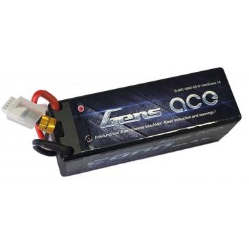 Hardcase LiPo 4S 14,8V 5800mAh 50C 139x47x50 mm 601g (T-Plug)