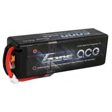 Hardcase LiPo 3S 11,1V 5000mAh 50C 138x46x38mm 410g (T-Plug)