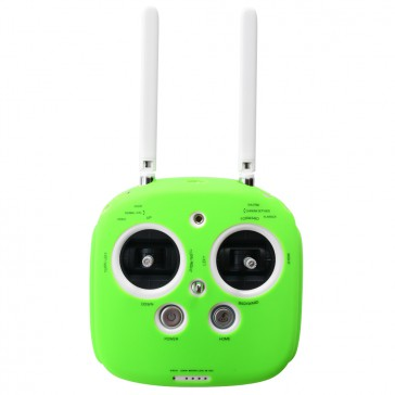 DISC.. Silicone cover for Phantom 3, 4 & inspire radio (Green)