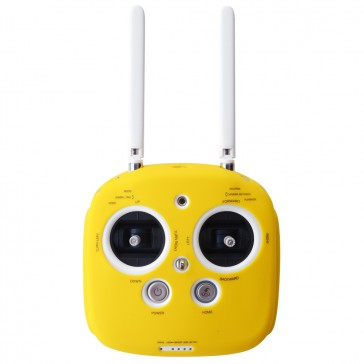 DISC.. Silicone cover for Phantom 3, 4 & inspire radio (Yellow)