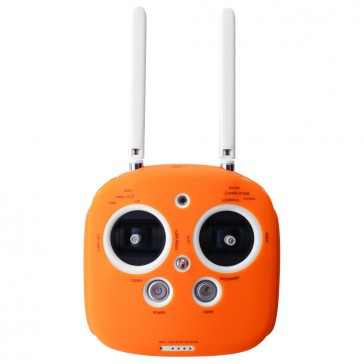DISC.. Silicone cover for Phantom 3, 4 & inspire radio (Orange)
