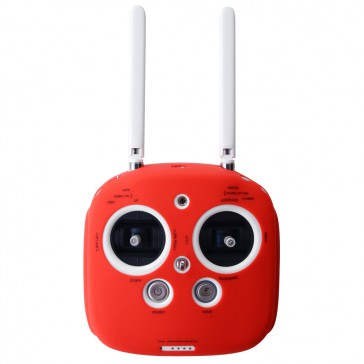 DISC.. Silicone cover for Phantom 3, 4 & inspire radio (Red)