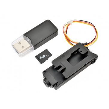 Camera (Photo / video) + 4Gb micro SD card