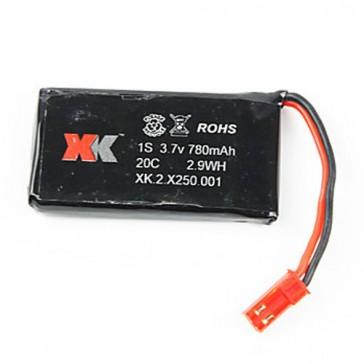 1S 780mAh Lipo battery - X250