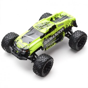 Monster truck 4x4 Ramasoon Brushed RTR Kit - Yellow