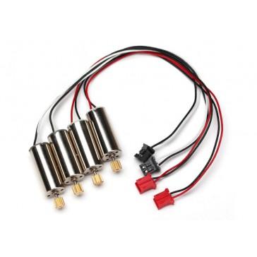 Motors, Cw (2)/ Ccw (2) Spur Gear, 78-Too