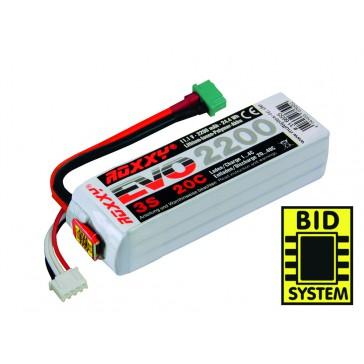 Accu LiPo ROXXY 3 - 2200M 20C av. BID-Chip