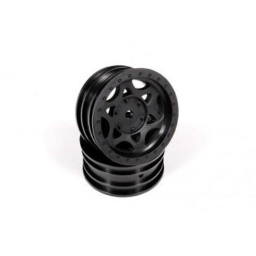 DISC.. 1.9 Walker Evans Street Wheel Black (2)