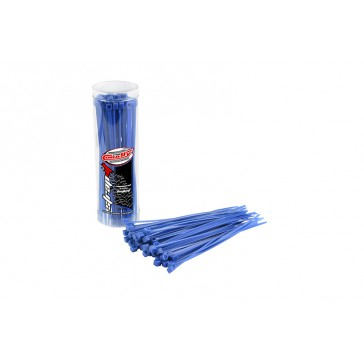 DISC.. Cable Tie Raps - Blue - 2.5x100mm - 50 Pcs